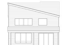 Craftsman Exterior - Rear Elevation Plan #53-587