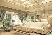 Ranch Interior - Family Room Plan #1010-207
