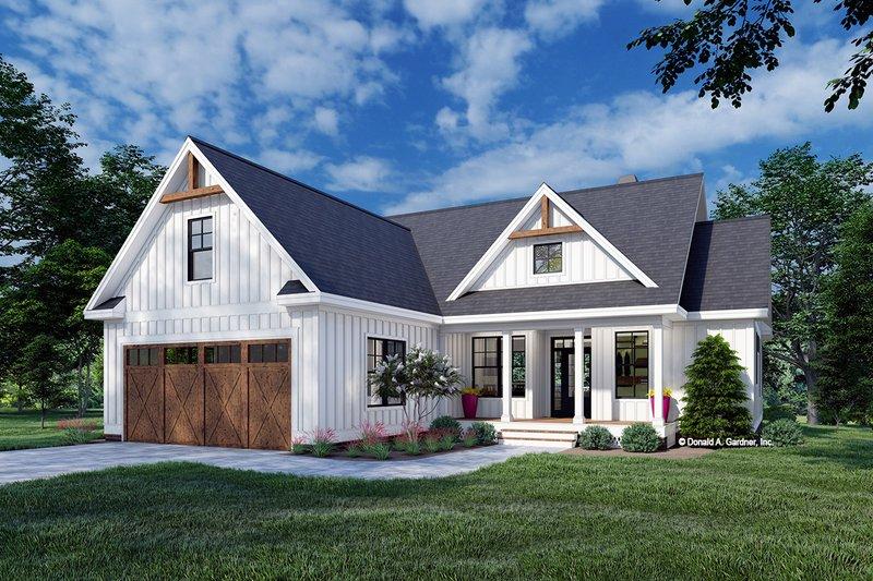 House Design - Farmhouse Exterior - Front Elevation Plan #929-1107