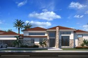 Southern Style House Plan - 4 Beds 3.5 Baths 3990 Sq/Ft Plan #1073-24 Exterior - Front Elevation