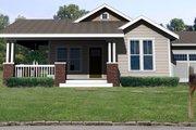 Craftsman Style House Plan - 3 Beds 2 Baths 1450 Sq/Ft Plan #461-1
