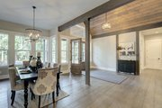 Cottage Style House Plan - 4 Beds 3.5 Baths 4420 Sq/Ft Plan #132-568 Interior - Dining Room