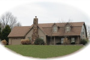 Traditional Exterior - Front Elevation Plan #81-13687