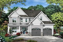 Architectural House Design - Farmhouse Exterior - Front Elevation Plan #929-1122
