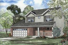 House Plan Design - Traditional Exterior - Front Elevation Plan #17-431
