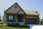 Cottage Style House Plan - 3 Beds 2 Baths 1356 Sq/Ft Plan #20-2193