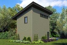 Architectural House Design - Modern Exterior - Rear Elevation Plan #48-934
