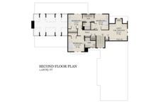 Farmhouse Floor Plan - Upper Floor Plan Plan #51-1145