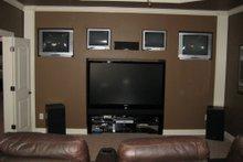 Craftsman Interior - Family Room Plan #437-3