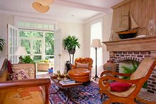 Southern Interior - Family Room Plan #137-165