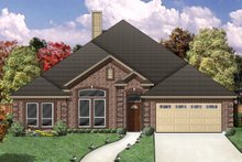 Home Plan - Traditional Exterior - Front Elevation Plan #84-358