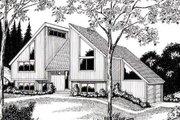 Modern Style House Plan - 4 Beds 2 Baths 1851 Sq/Ft Plan #312-840