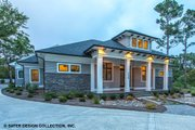 Craftsman Style House Plan - 3 Beds 3.5 Baths 3108 Sq/Ft Plan #930-522 Exterior - Other Elevation