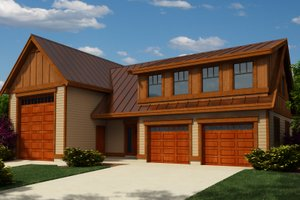 Traditional Exterior - Front Elevation Plan #118-128