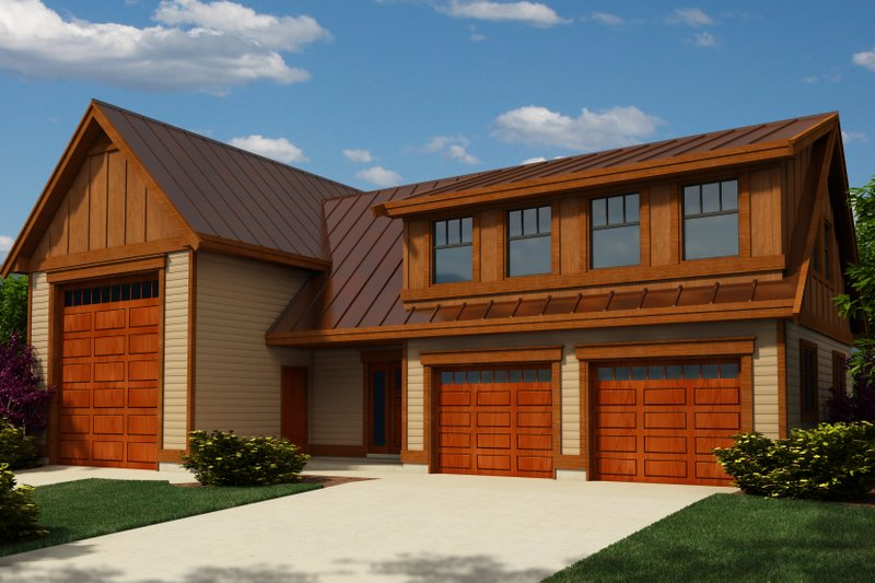 Dream House Plan - Traditional Exterior - Front Elevation Plan #118-128