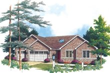 Home Plan - Traditional Exterior - Other Elevation Plan #48-289
