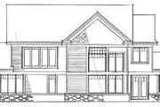 Craftsman Style House Plan - 3 Beds 2 Baths 3006 Sq/Ft Plan #51-224 Exterior - Rear Elevation