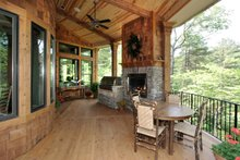 Craftsman Exterior - Outdoor Living Plan #54-391