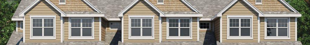 Triplex House Plans, Floor Plans & Designs