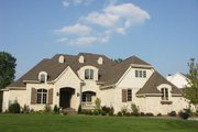 European Style House Plan - 4 Beds 5.5 Baths 6375 Sq/Ft Plan #458-20