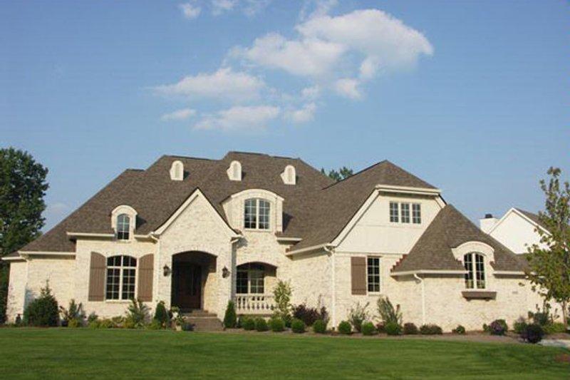 European Style House Plan - 4 Beds 5.5 Baths 6375 Sq/Ft Plan #458-20