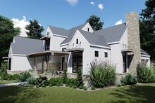 Home Plan - Farmhouse Exterior - Front Elevation Plan #120-258