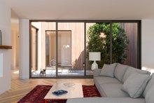 Dream House Plan - Modern Interior - Family Room Plan #1076-2