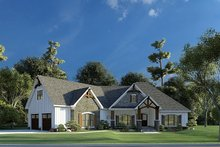 Dream House Plan - Craftsman Exterior - Other Elevation Plan #923-192