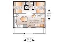 Canadian modern cottage house plan