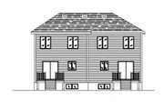 Traditional Style House Plan - 2 Beds 1.5 Baths 2428 Sq/Ft Plan #138-237 Exterior - Rear Elevation