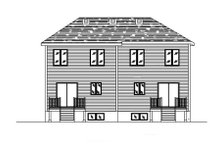 Home Plan - Traditional Exterior - Rear Elevation Plan #138-237