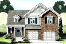 Traditional Exterior - Front Elevation Plan #46-422
