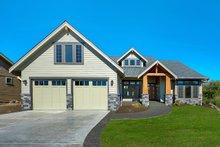 Architectural House Design - Craftsman Exterior - Front Elevation Plan #1070-5