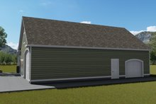 Dream House Plan - Traditional Exterior - Other Elevation Plan #1060-81