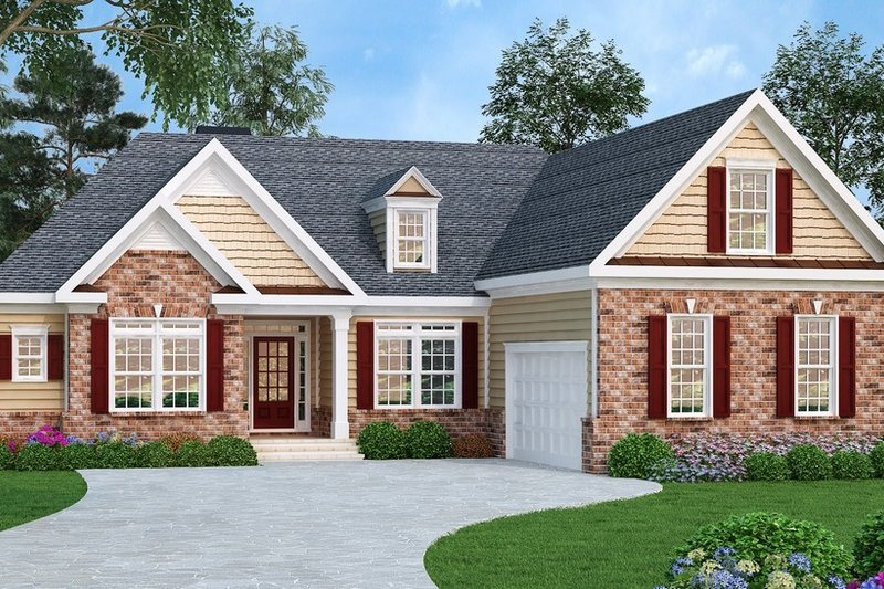 House Plan Design - Traditional Exterior - Front Elevation Plan #419-111