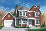 Victorian Style House Plan - 4 Beds 2.5 Baths 1846 Sq/Ft Plan #23-299