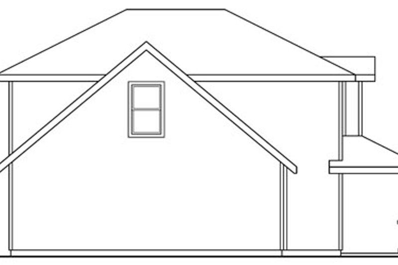 Craftsman Exterior - Other Elevation Plan #124-755 - Houseplans.com