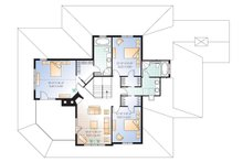 Canadian Country style house plan farm home plan