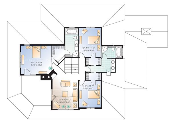 Dream House Plan - Canadian Country style house plan farm home plan