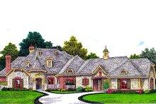 Home Plan - European Exterior - Front Elevation Plan #310-962