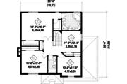 European Style House Plan - 3 Beds 2 Baths 2369 Sq/Ft Plan #25-4869 Floor Plan - Upper Floor