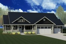 House Plan Design - Craftsman Exterior - Front Elevation Plan #920-50