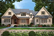 Farmhouse Style House Plan - 4 Beds 4.5 Baths 2911 Sq/Ft Plan #927-999 Exterior - Front Elevation