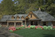 Craftsman Style House Plan - 3 Beds 2.5 Baths 2495 Sq/Ft Plan #120-191 Exterior - Front Elevation