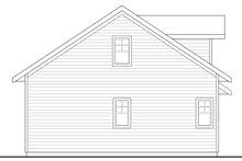 Craftsman Exterior - Rear Elevation Plan #124-1069