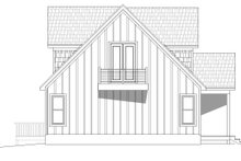 Cabin Exterior - Other Elevation Plan #932-250