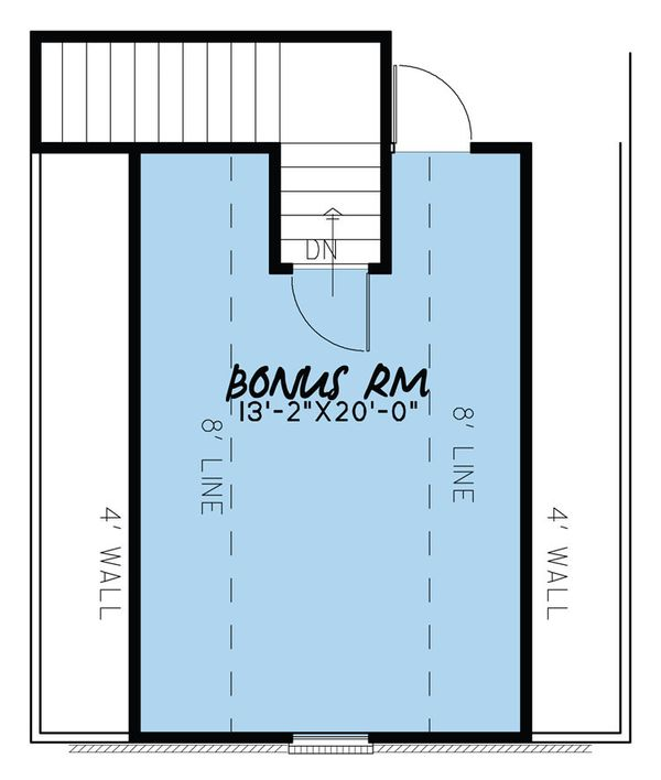 House Plan Design - Traditional Floor Plan - Upper Floor Plan #923-37