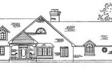 Dream House Plan - Country Exterior - Front Elevation Plan #5-206