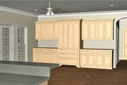 Southern Style House Plan - 3 Beds 2.5 Baths 1958 Sq/Ft Plan #44-189 Exterior - Other Elevation