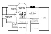 Classical Style House Plan - 4 Beds 2 Baths 2473 Sq/Ft Plan #119-245 Floor Plan - Upper Floor